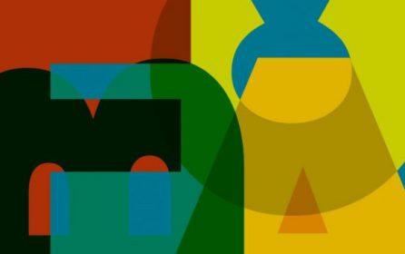 Tour guide for the exhibition Burri Fontana Afro Capogrossi. Nuovi orizzonti nell'arte del secondo dopoguerra