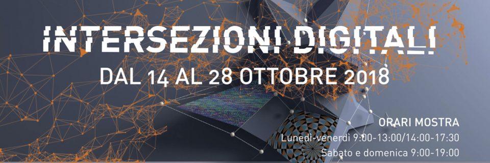 Intersezioni digitali (Digital intersections). Group show at Chiesa Storica, San Martino di Lupari, Padova, Italy